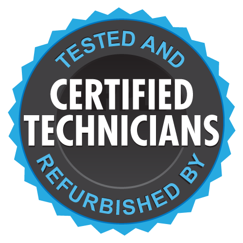 Tested and Refurbished by Certified Technicians