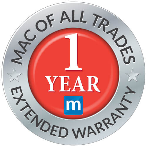 Mac of all trades 1 Year Extended Warranty