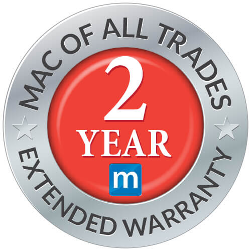 Mac of all trades 2 Year Extended Warranty
